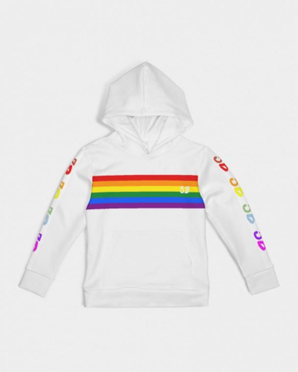 Kids Pride Stripes Hoodie | Trada Marketplace