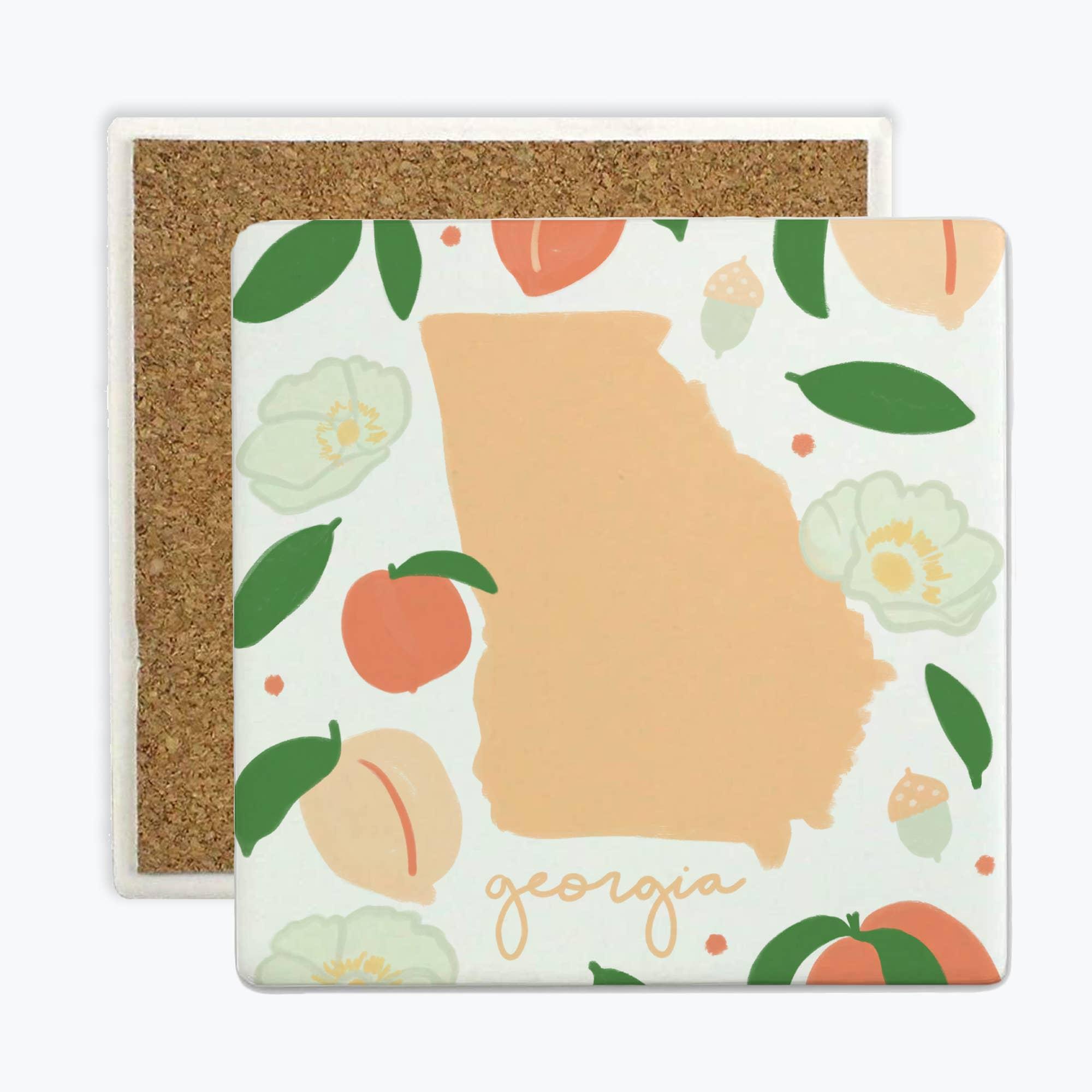 Georgia Fresh State - Coasters   Trada Marketplace