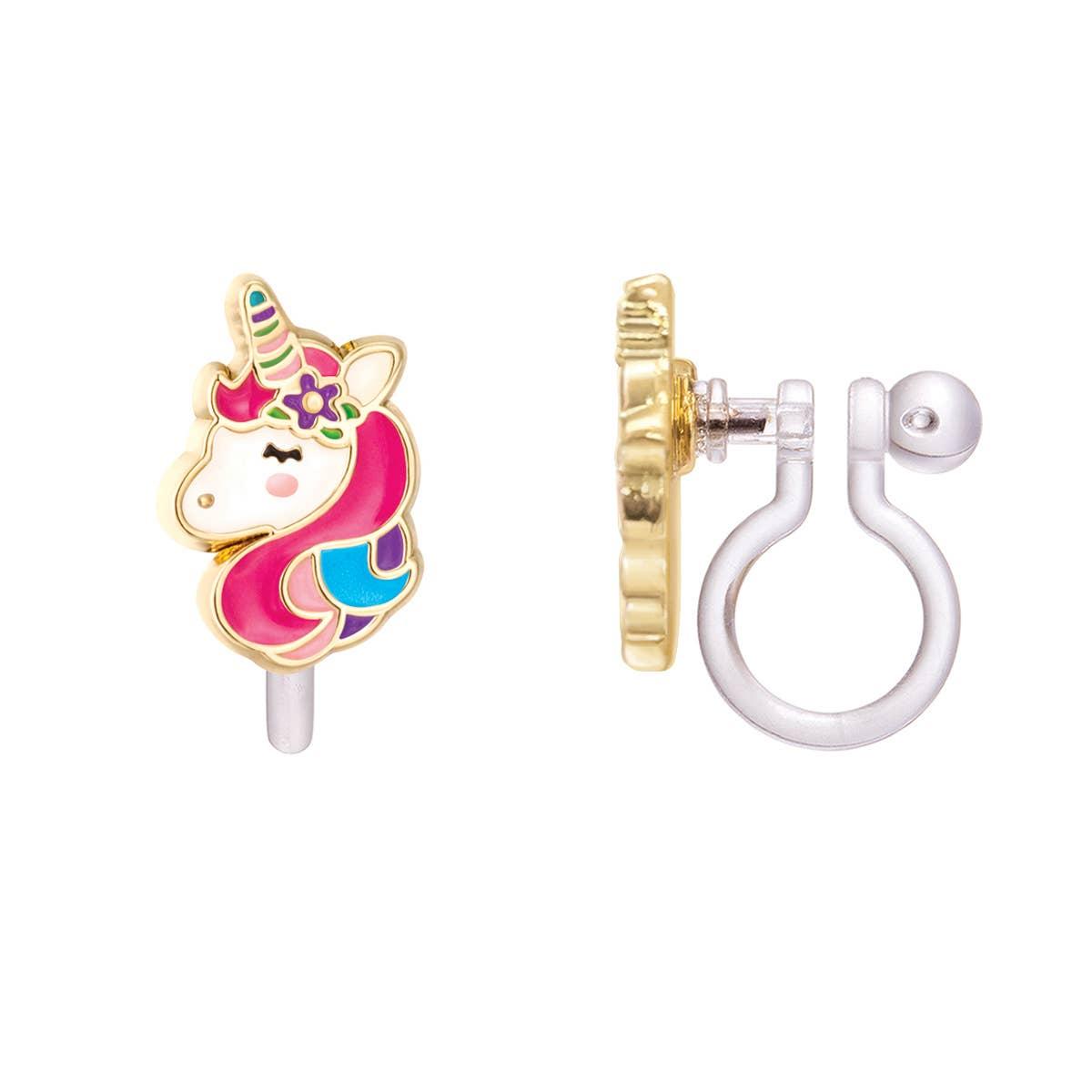 CLIP ON Cutie Earrings- Unicorn Dreams | Trada Marketplace
