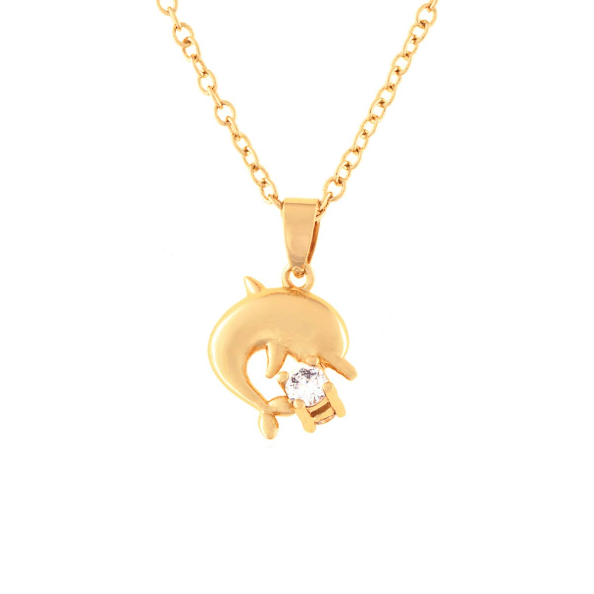 Little Treasures- Dolphin Necklace   Trada Marketplace