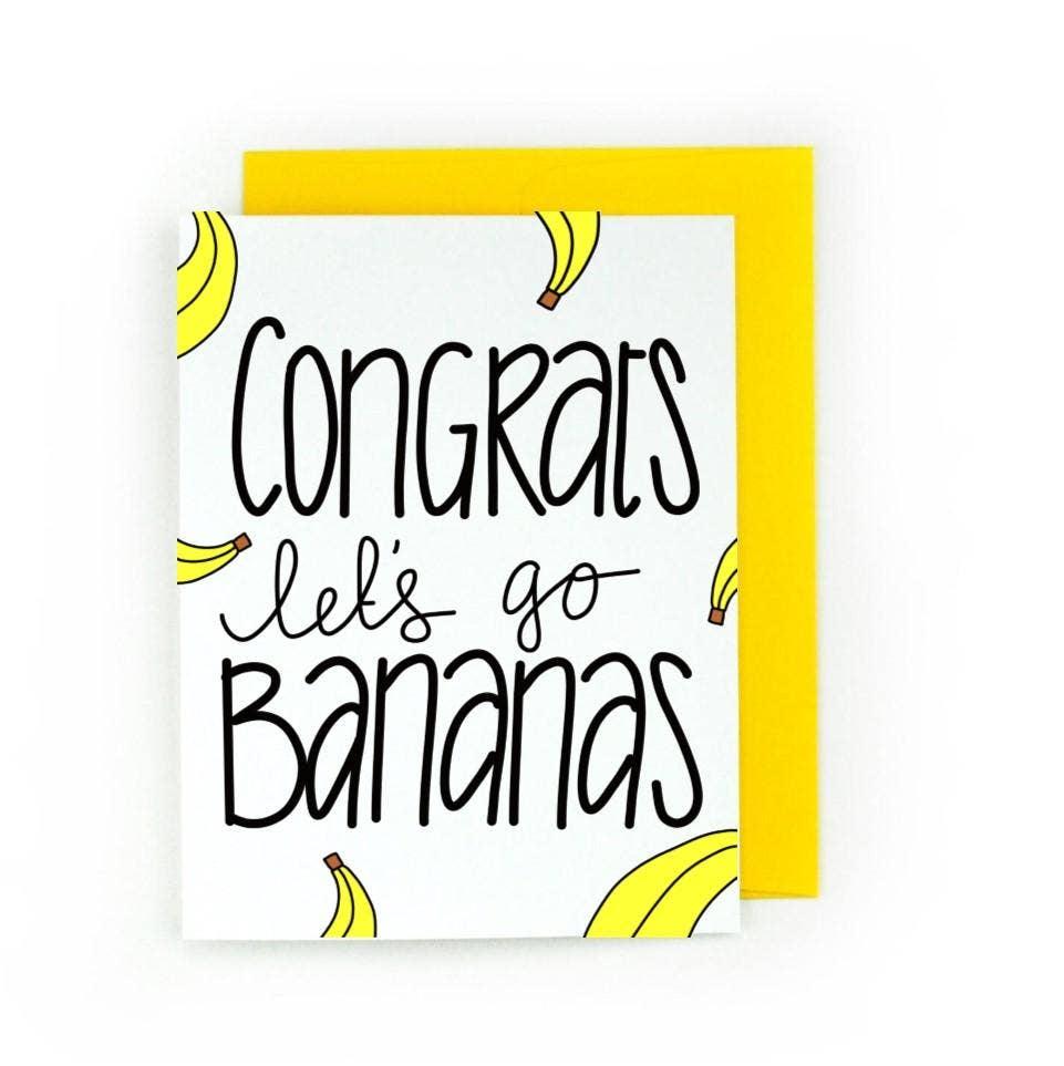 Congrats Let's Go Bananas | Trada Marketplace