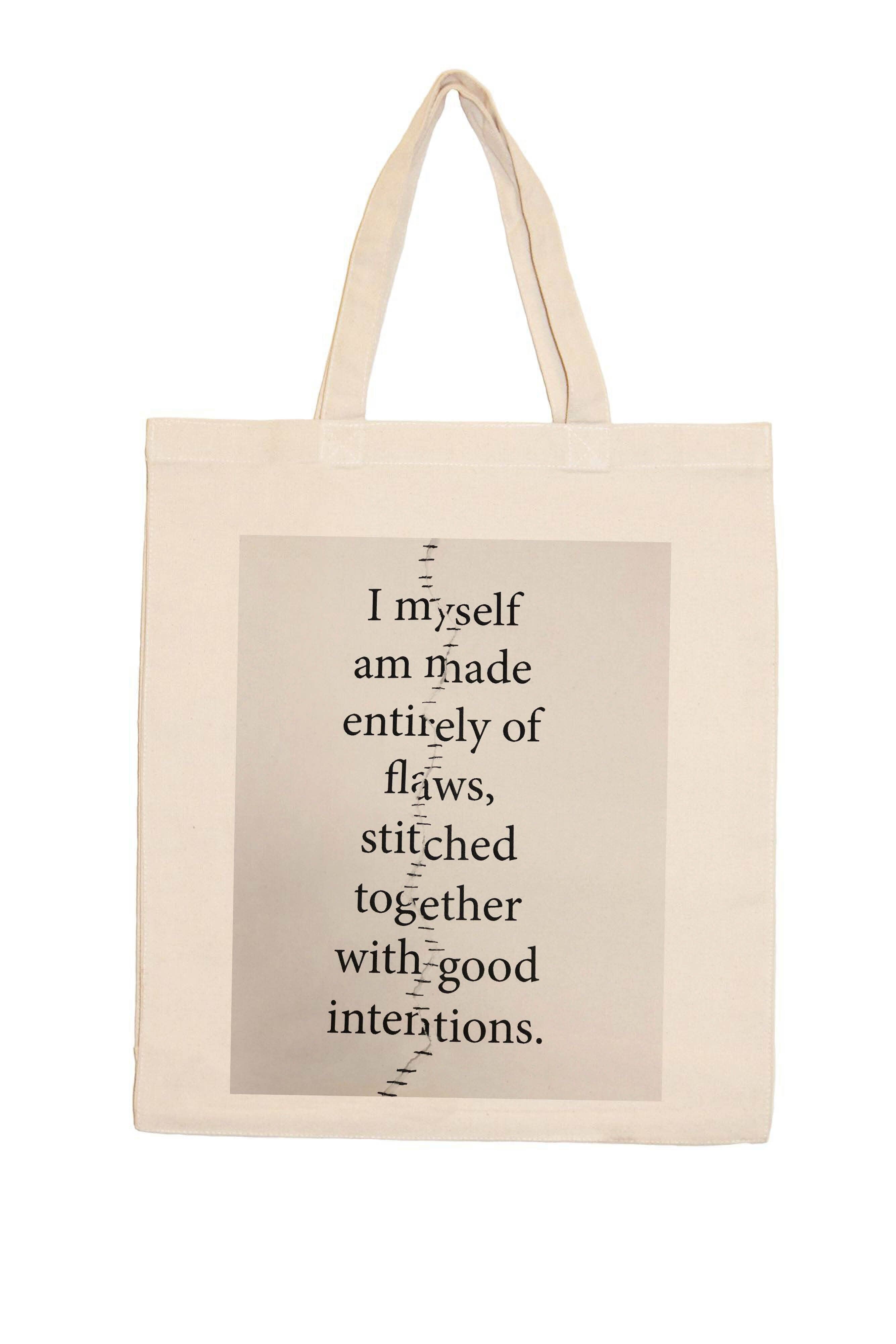 Flaws Graphic Tote Bag | Trada Marketplace
