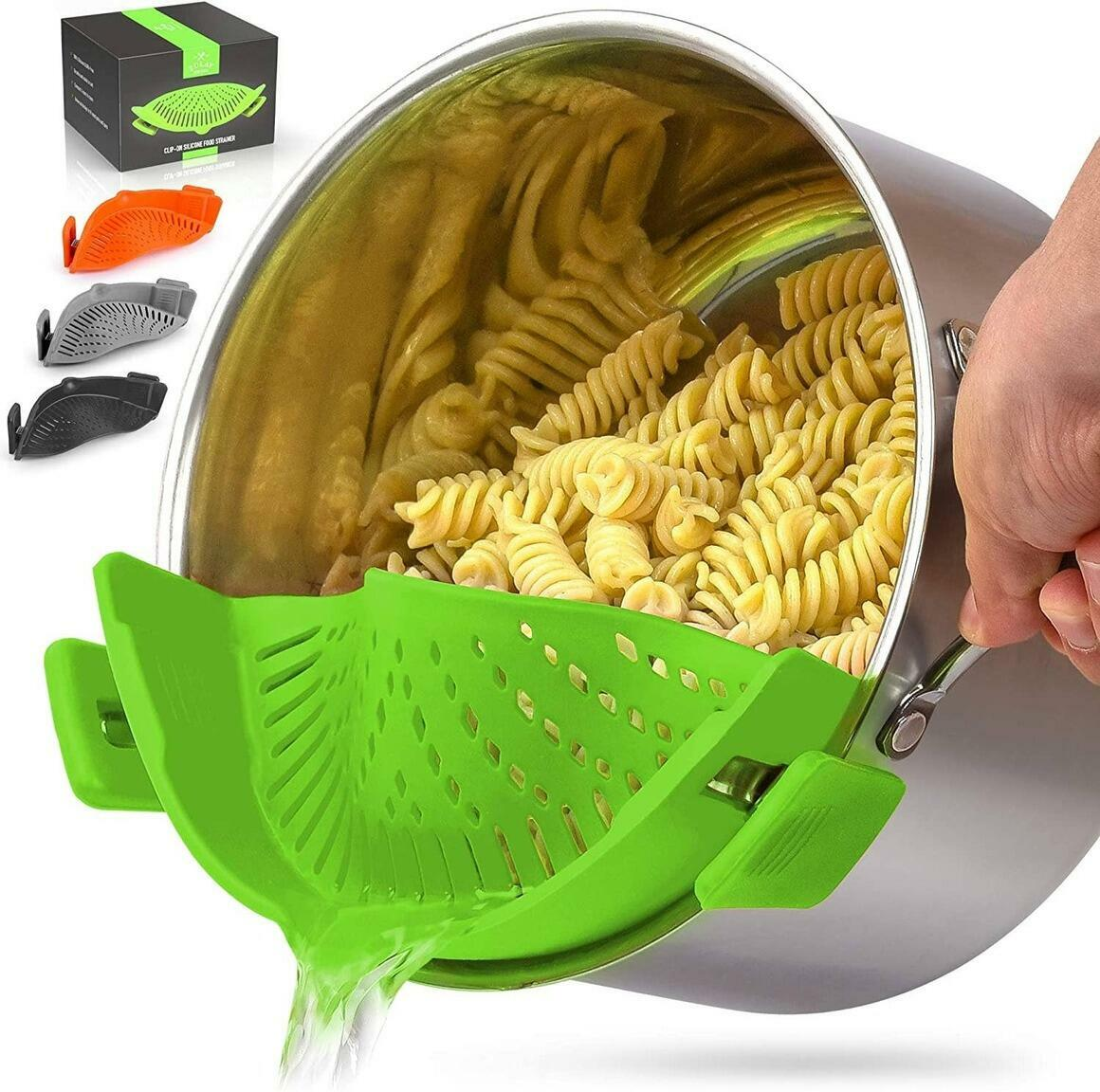Adjustable Silicone Strainer with Small Mouth | Trada Marketplace