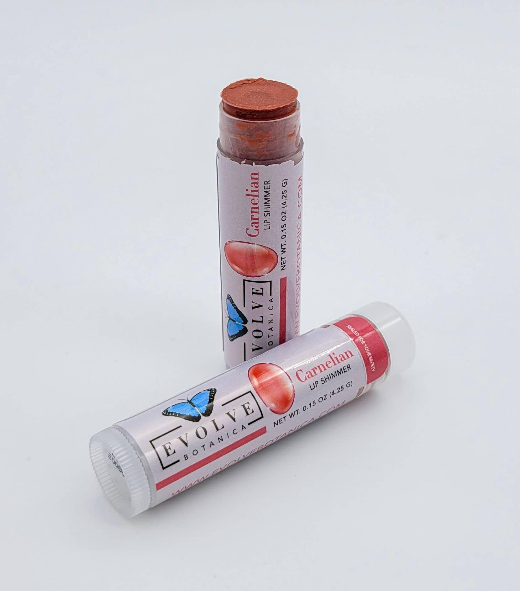 Evolve - Lip Balm - Natural Shimmer Tint - Carnelian | Trada Marketplace