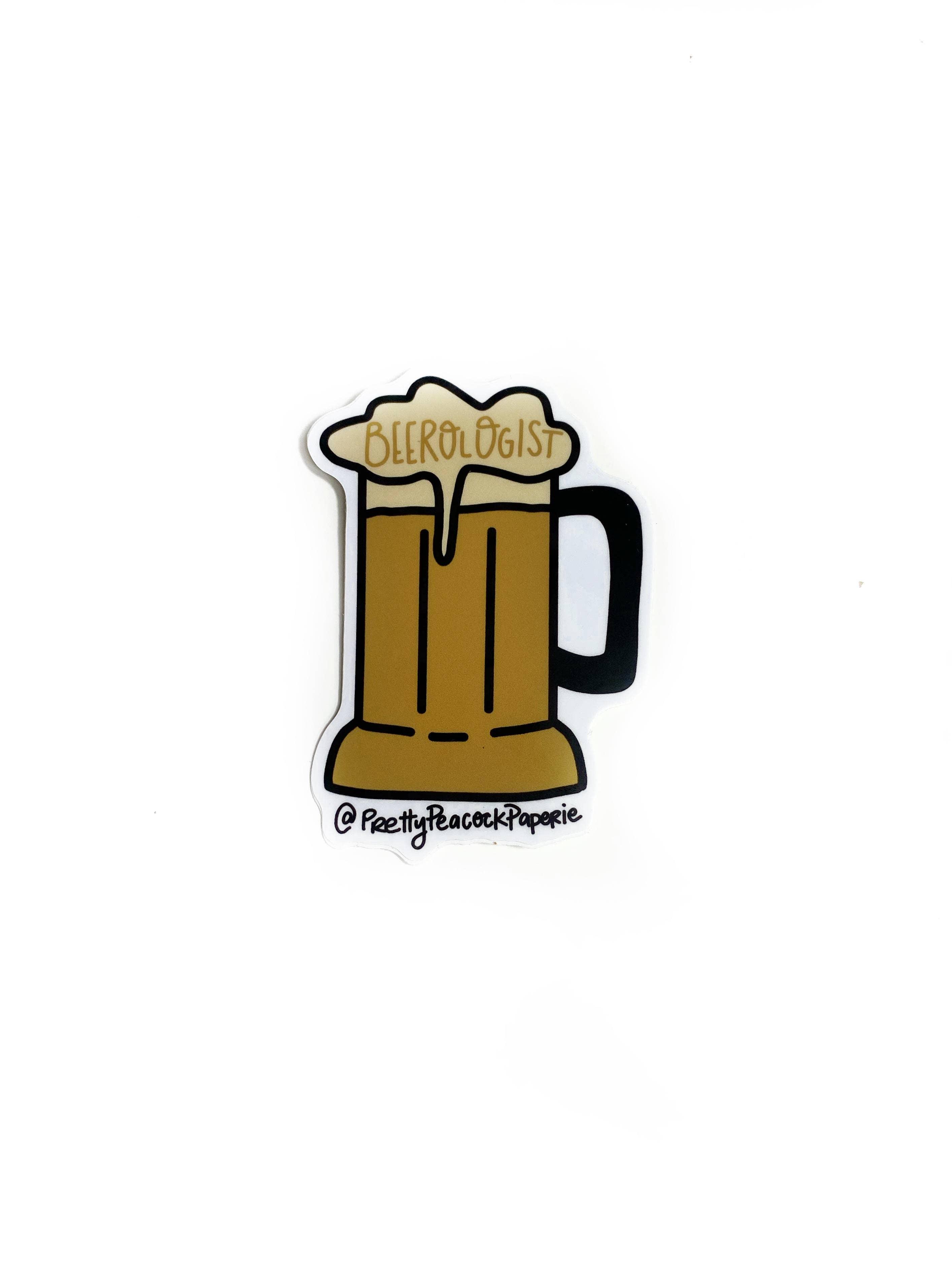 Beerologist - Beer Sticker | Trada Marketplace