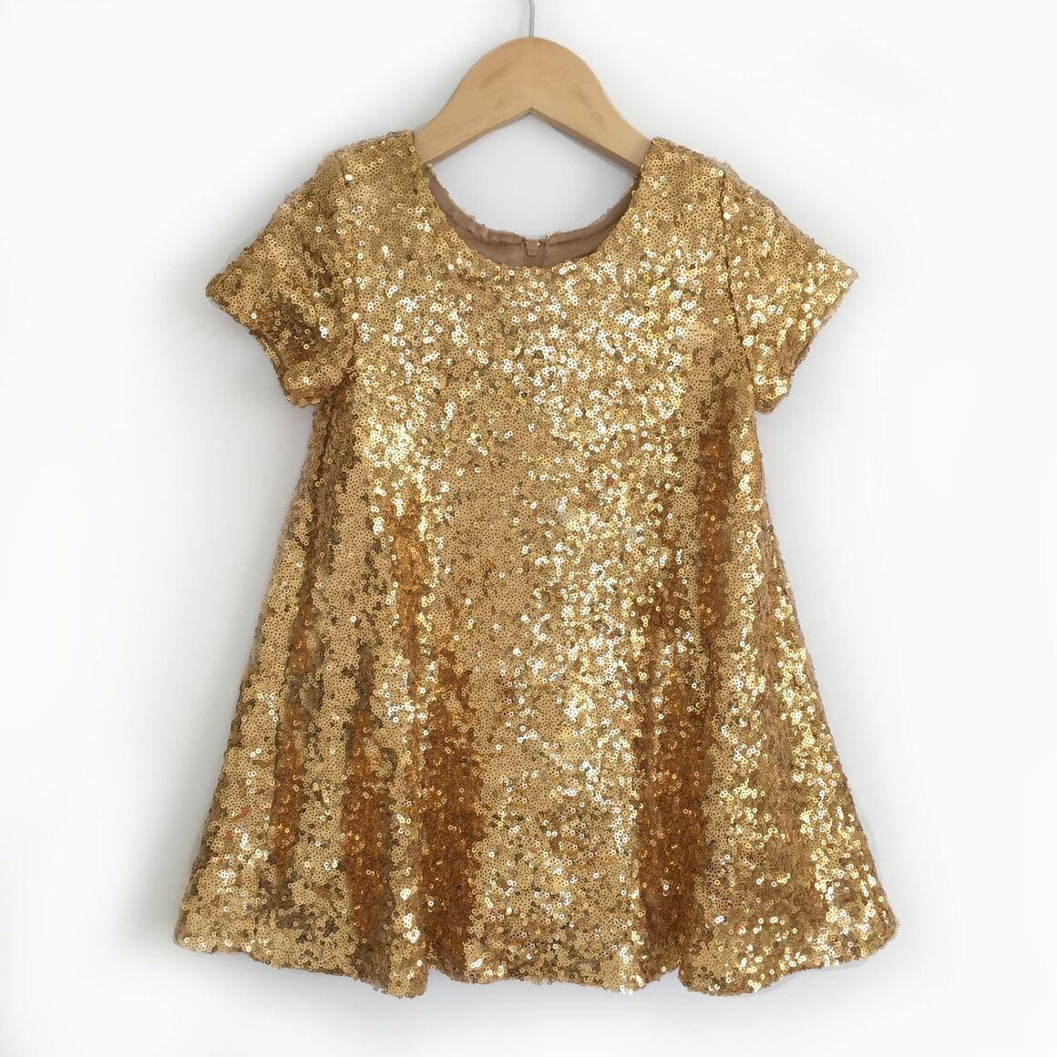 Gold Sequin Dress | Trada Marketplace