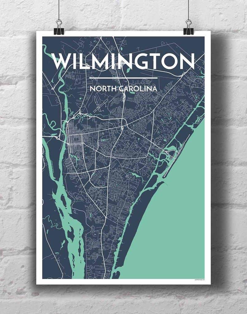 Wilmington City Map | Trada Marketplace