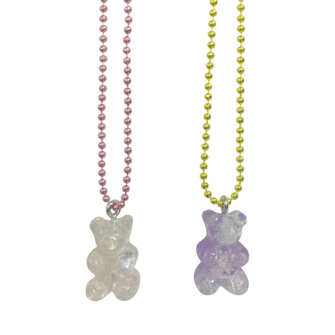 Pop Cutie Gacha Sparkle Gummy Bear Kids Necklaces | Trada Marketplace