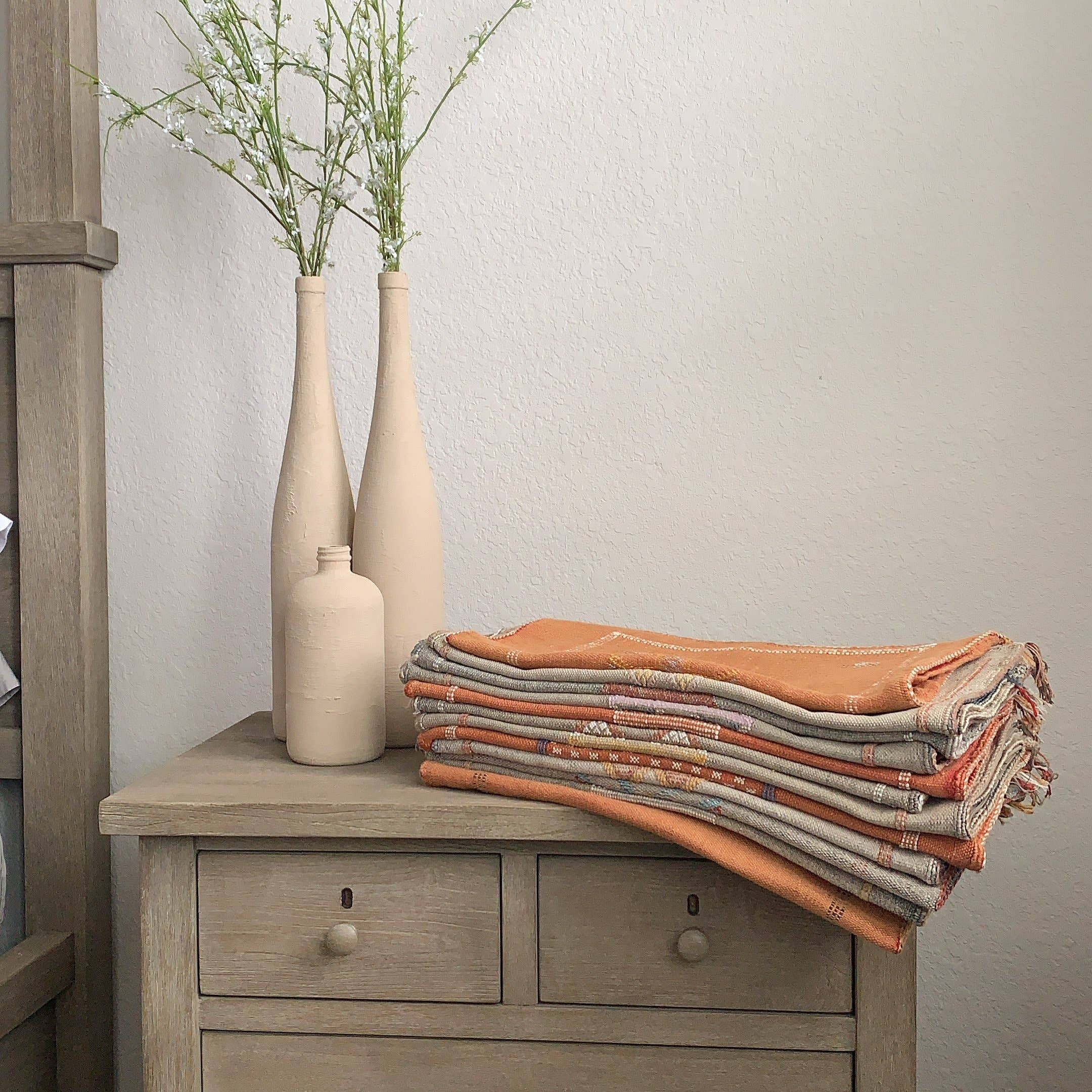 Handmade Cactus Silk Throw Pillow Covers   Trada Marketplace