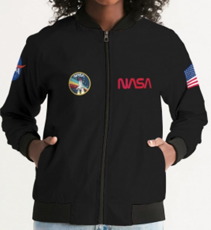 Women's Nasa Bomber Jacket | Trada Marketplace