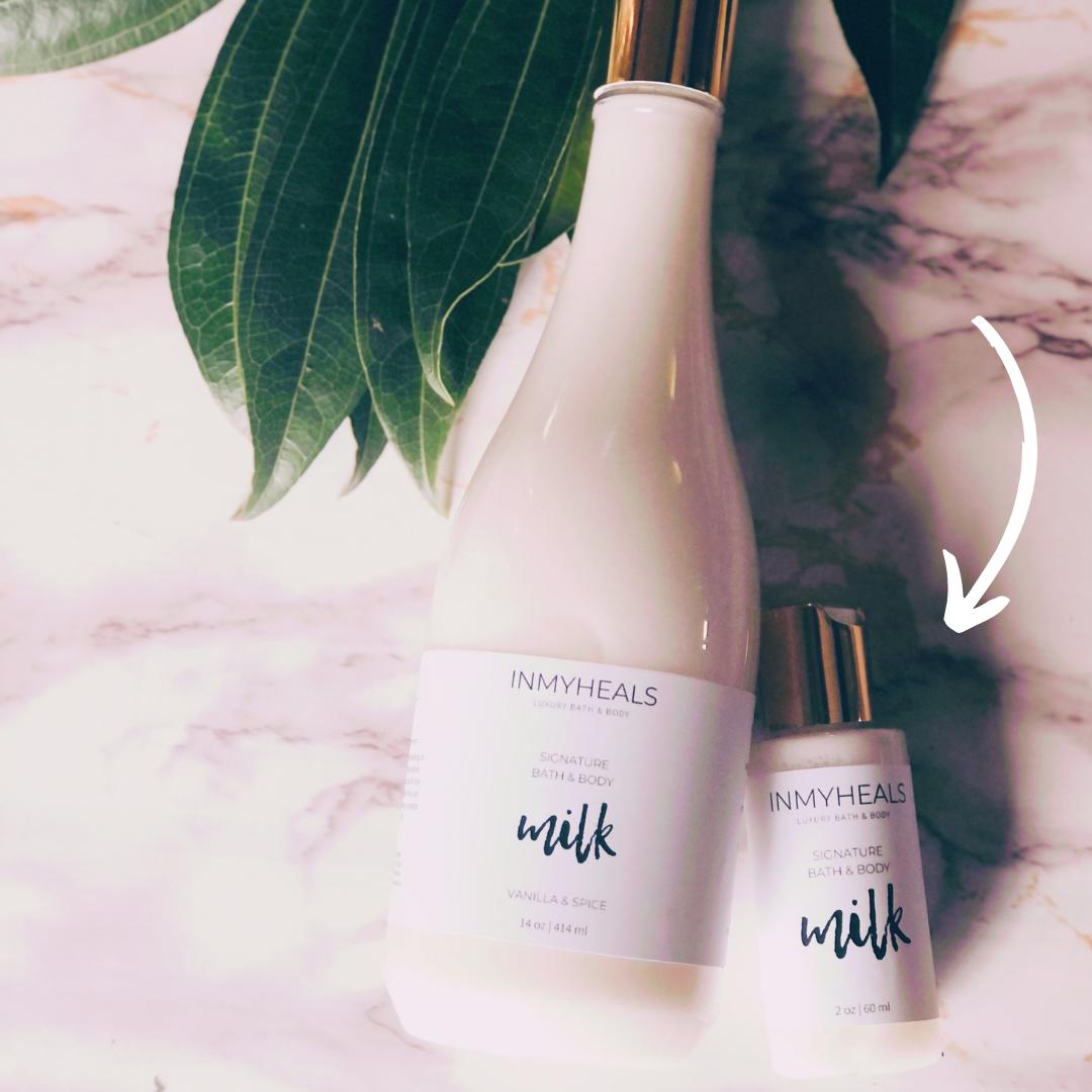 Travel Signature Bath Milk | Trada Marketplace