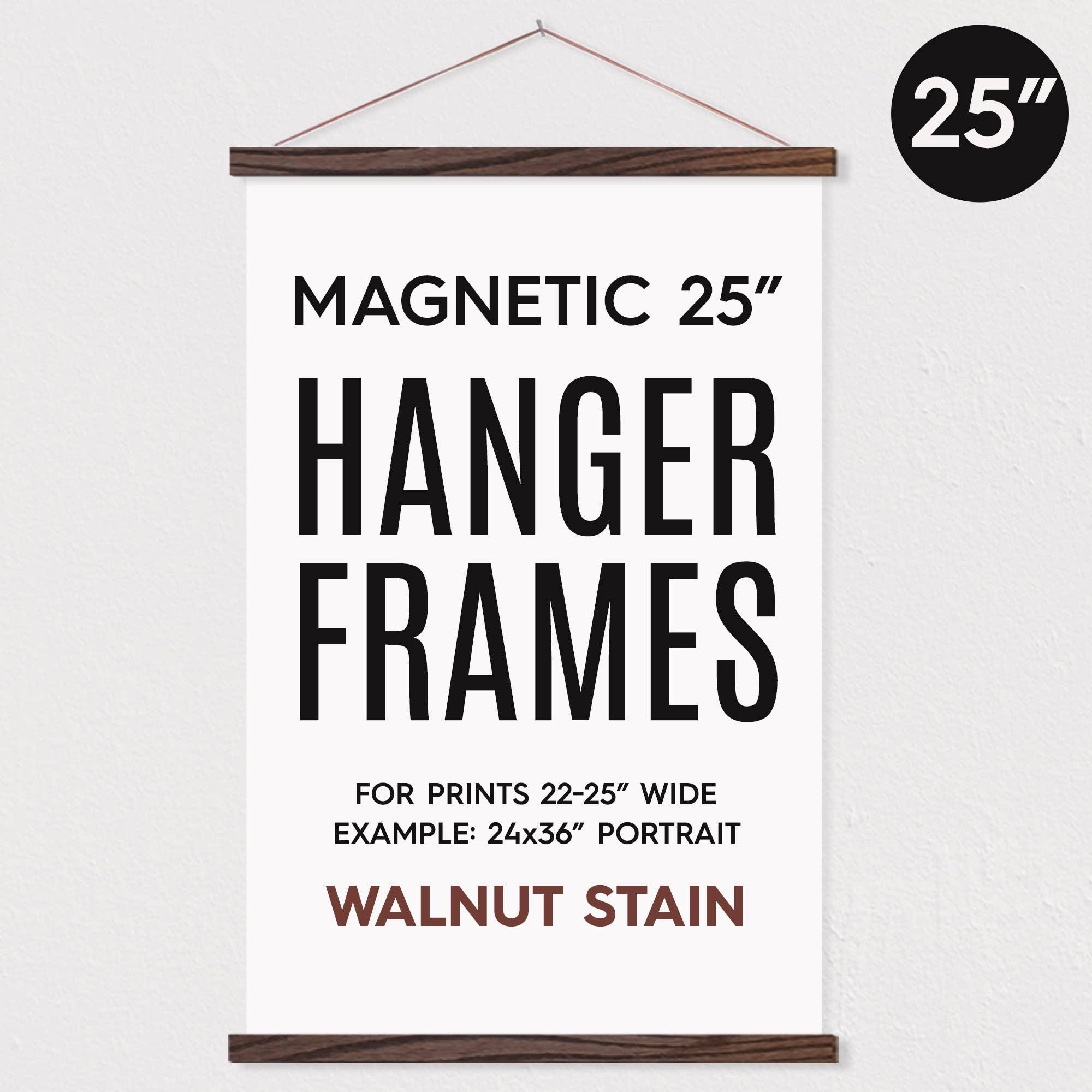 "25"" MAGNETIC Poster Hanger Frame for 24x36"" Portrait Print   Trada Marketplace"