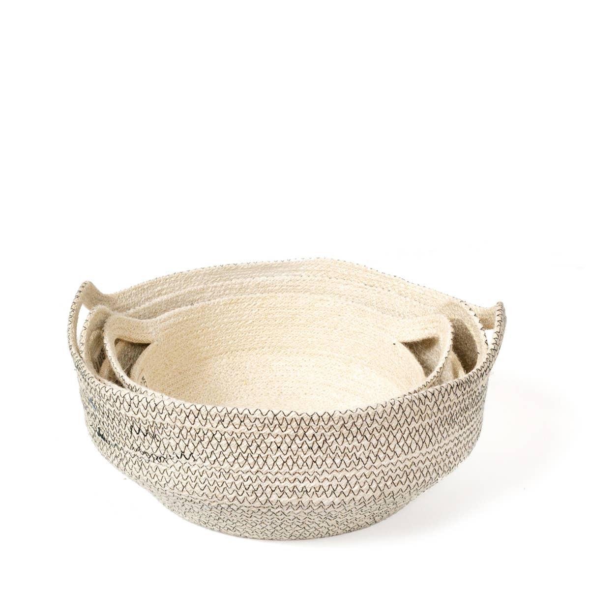Amari Fruit Bowl - Black (Set of 3) | Trada Marketplace