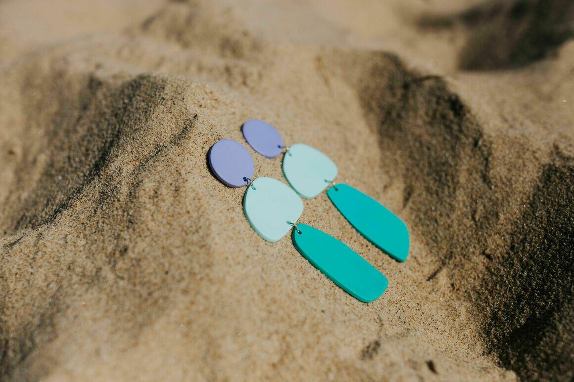 Lavender Mojito Earrings | Trada Marketplace