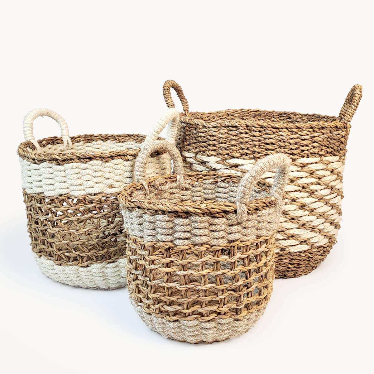 Ula Mesh Basket (Set of 3) | Trada Marketplace
