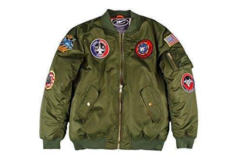 Adult MA-1 Flight Jacket Green   Trada Marketplace