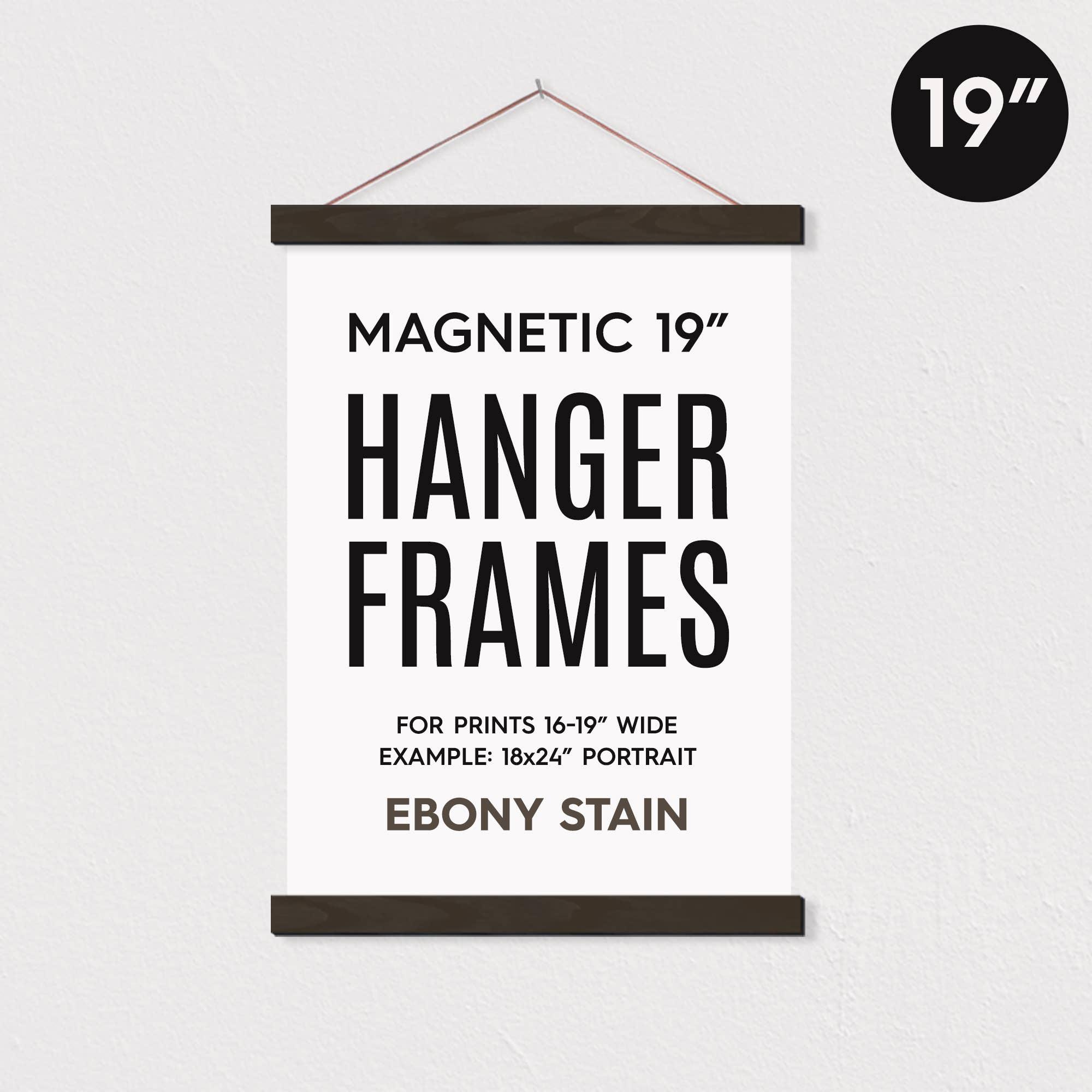 "19"" MAGNETIC Poster Hanger Frame™ for 18x24"" Portrait Prints   Trada Marketplace"
