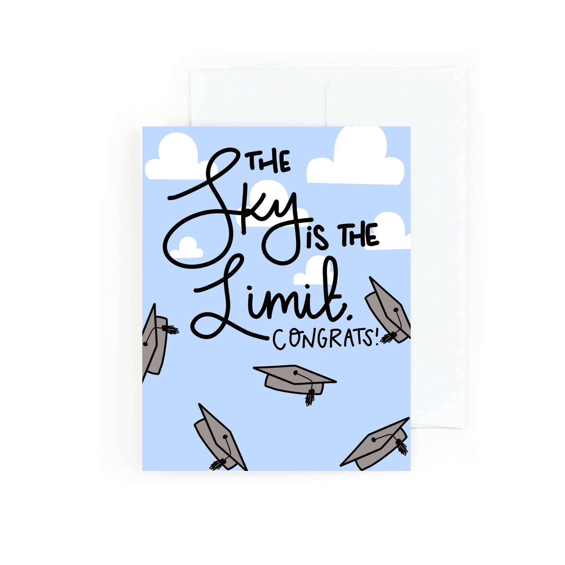 The Sky Is The Limit | Graduation Card | Trada Marketplace
