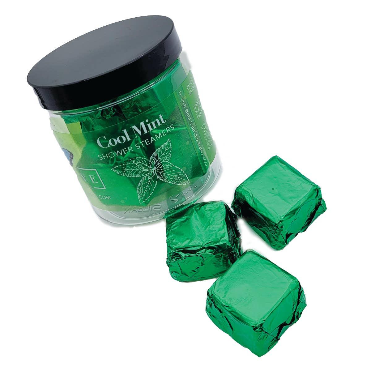 Evolve - Shower Steamers - Cool Mint (6 per Jar) | Trada Marketplace