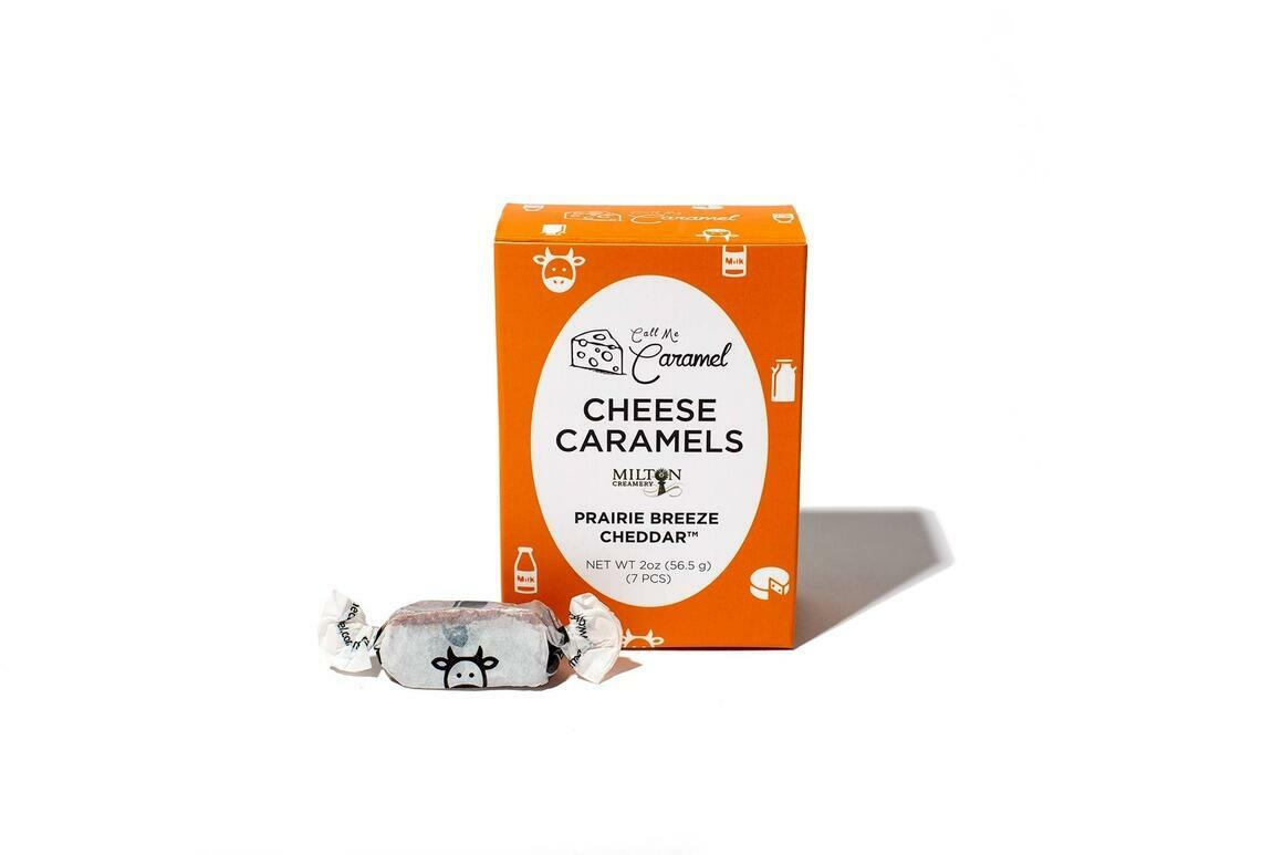 Prairie Breeze Cheddar Caramel 2oz Box | Trada Marketplace