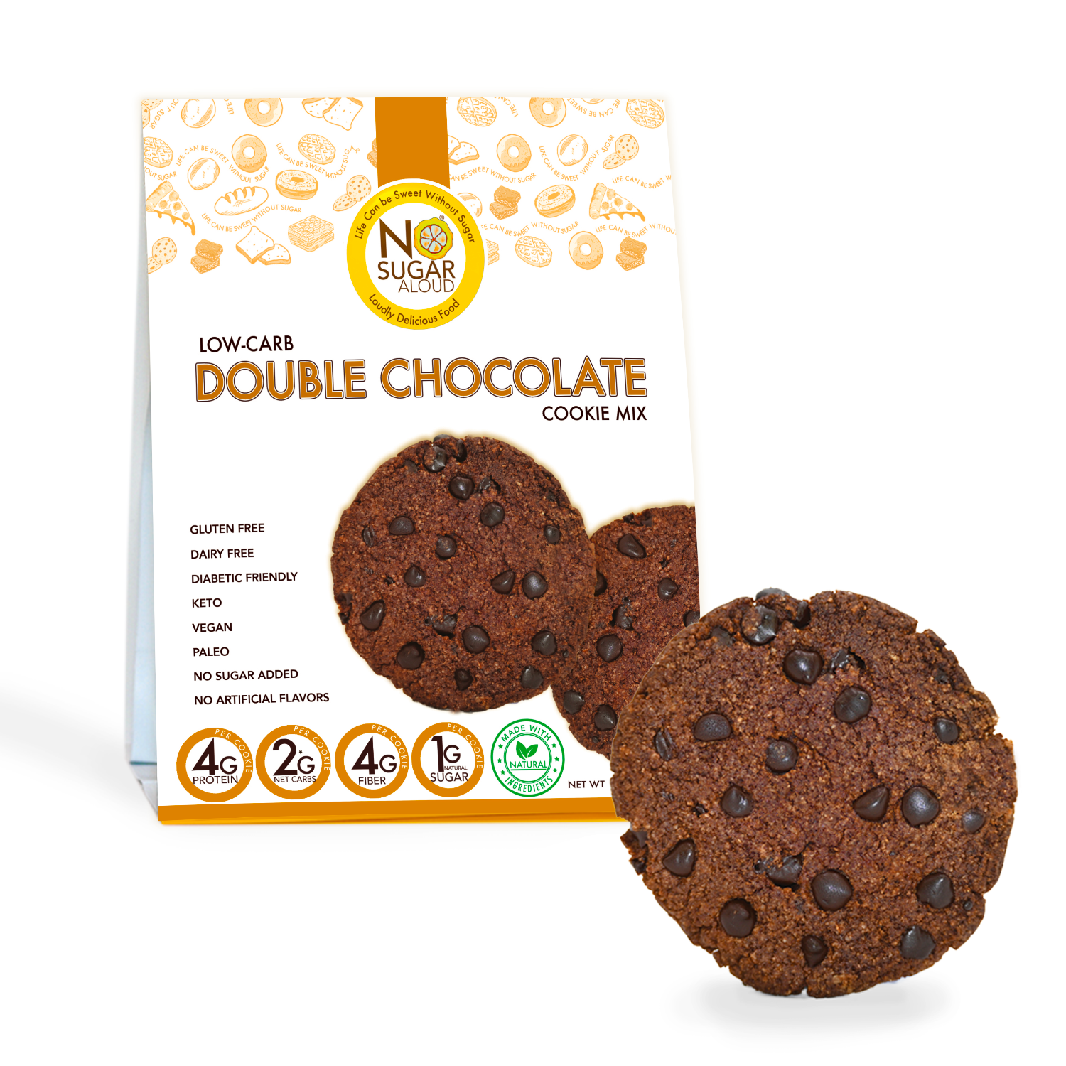 Low Carb Double Chocolate Cookie Mix   Trada Marketplace