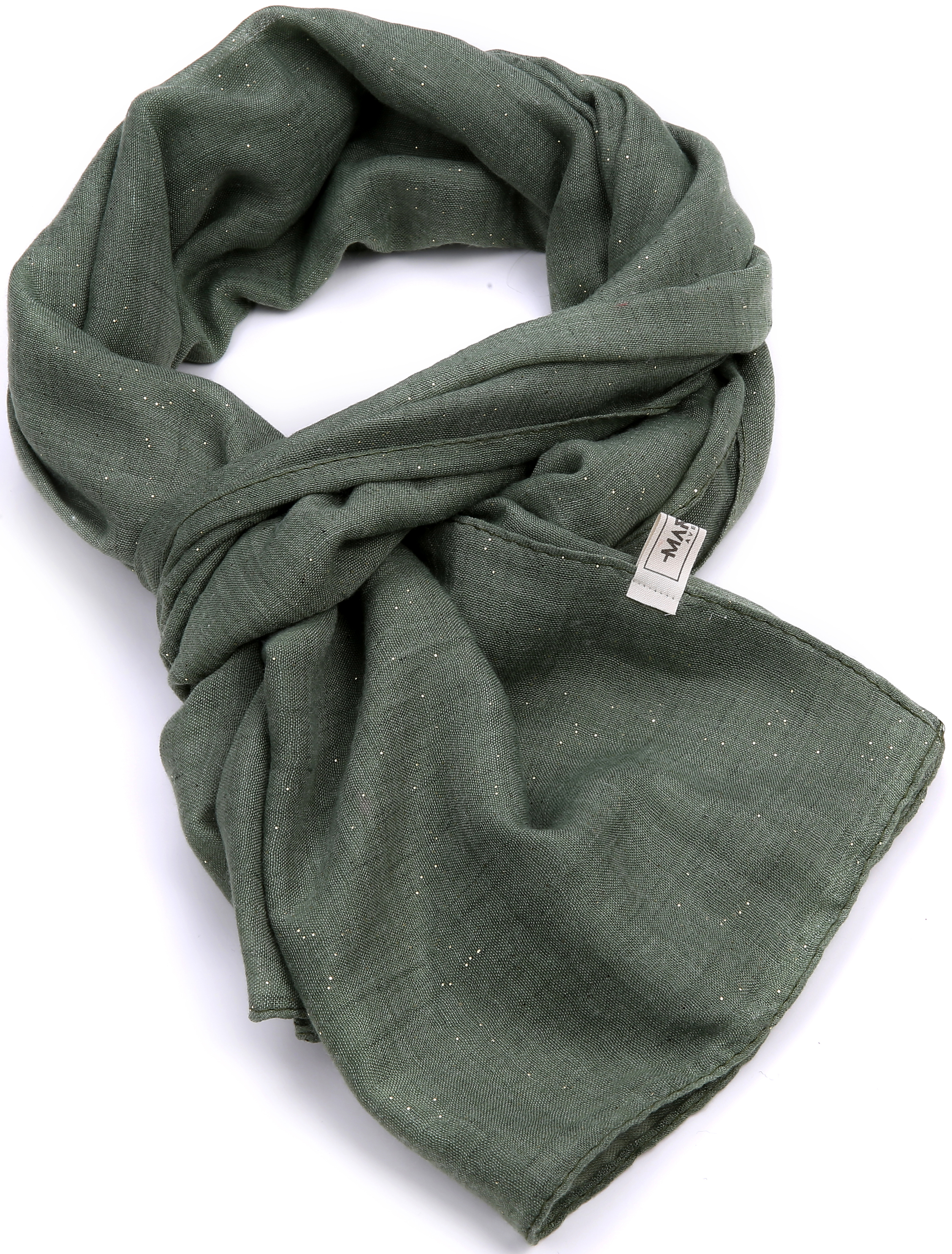 Sparkle Spring Scarf Camouflage Green | Trada Marketplace