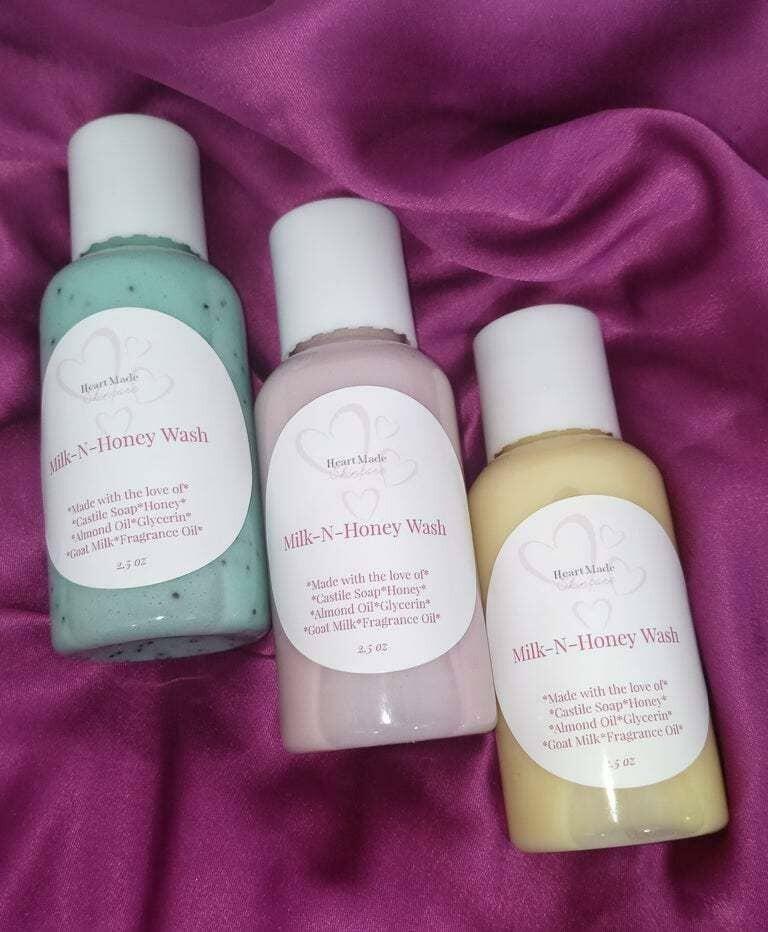 Triple Milk-N-Honey Wash | Trada Marketplace