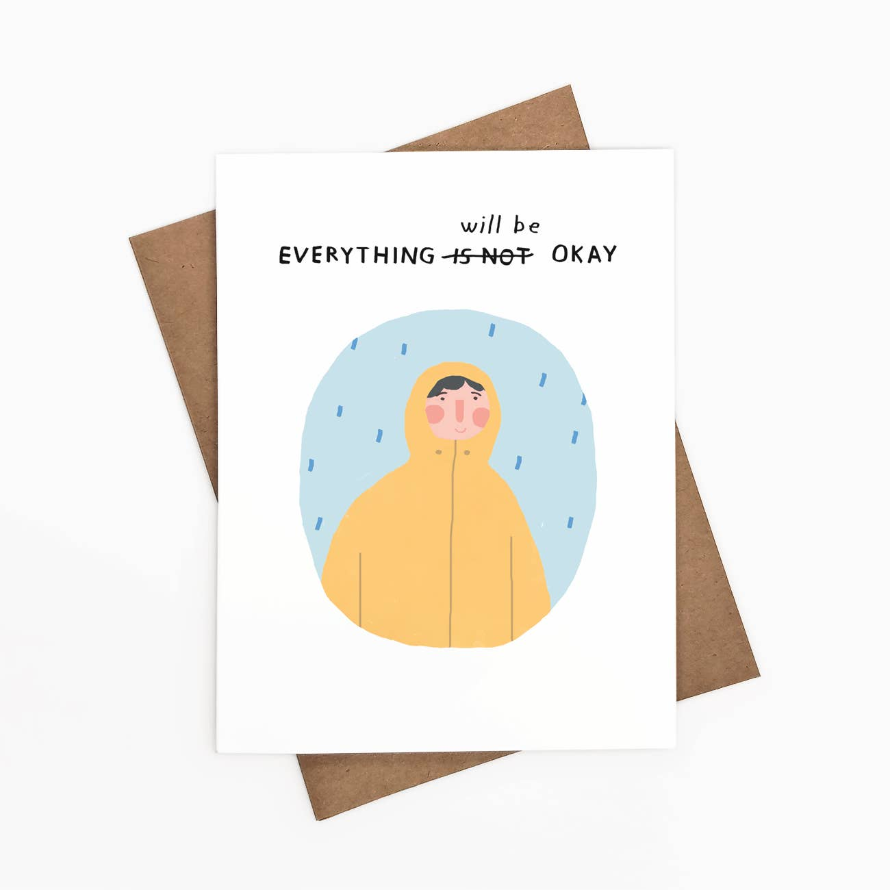 Everything Will Be Okay 2 Greeting Card   Trada Marketplace