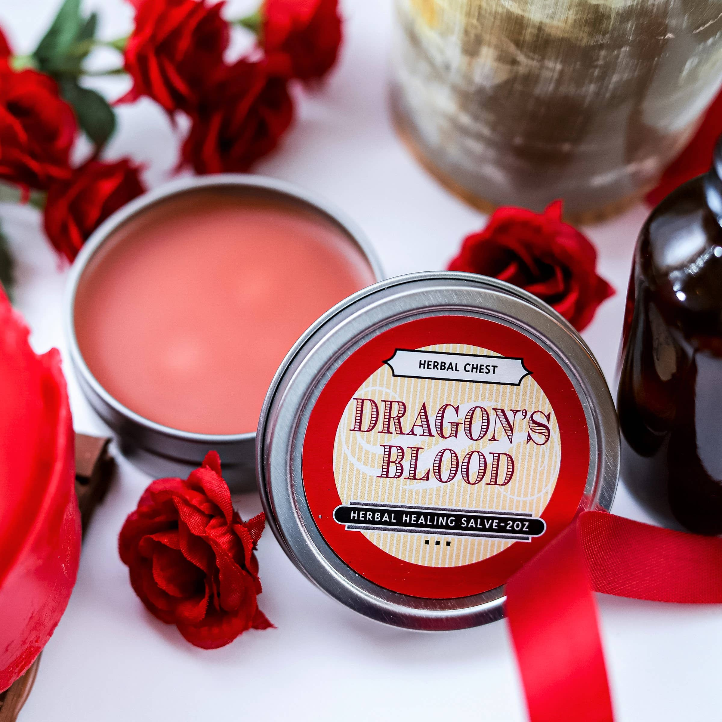 Dragon's Blood Herbal  Salve - Pain Relief & Wound Healing | Trada Marketplace
