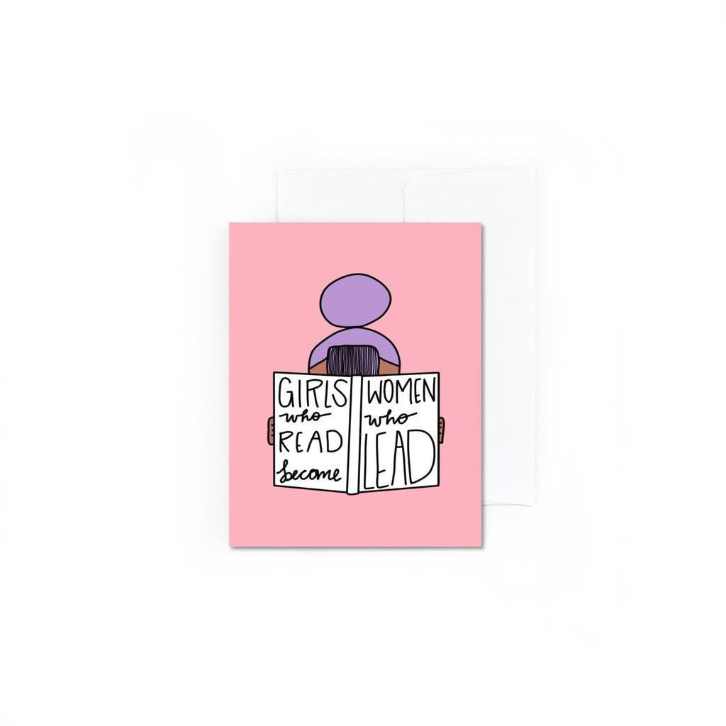 Girls Who Read Lead | Trada Marketplace