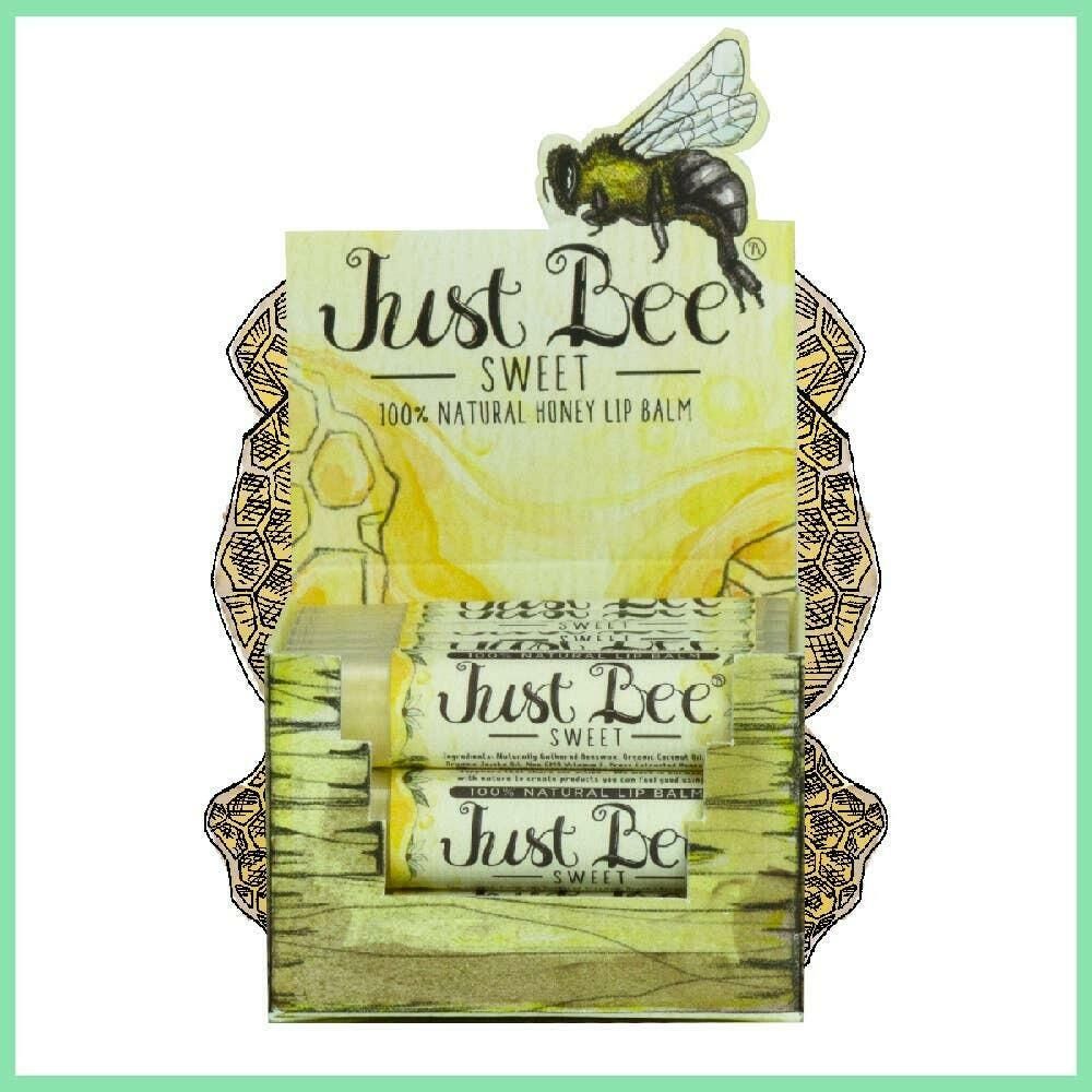 Just Bee Sweet Lip Balm - Natural Honey Lip Balm | Trada Marketplace