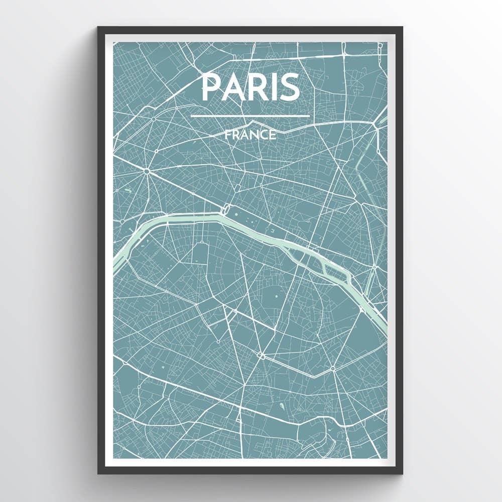 Paris City Map | Trada Marketplace