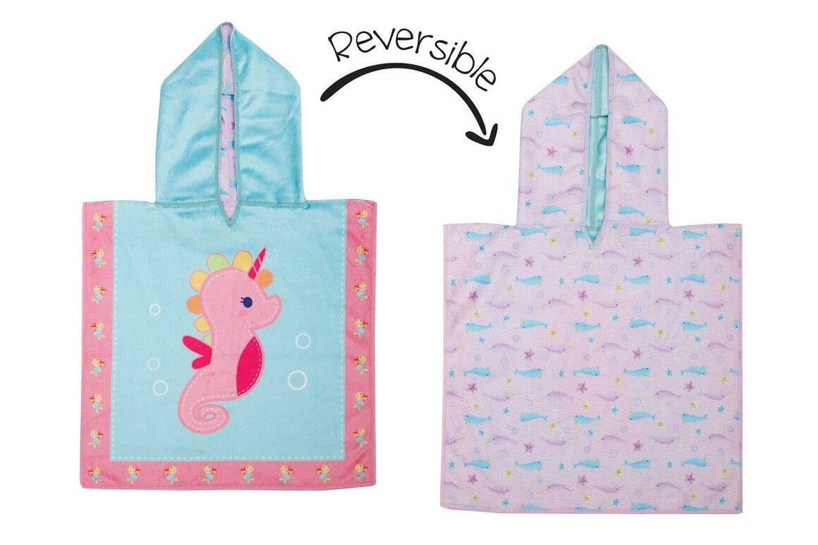 Baby UPF50+ Cover-Up - Seahorse/Narwhal | Trada Marketplace