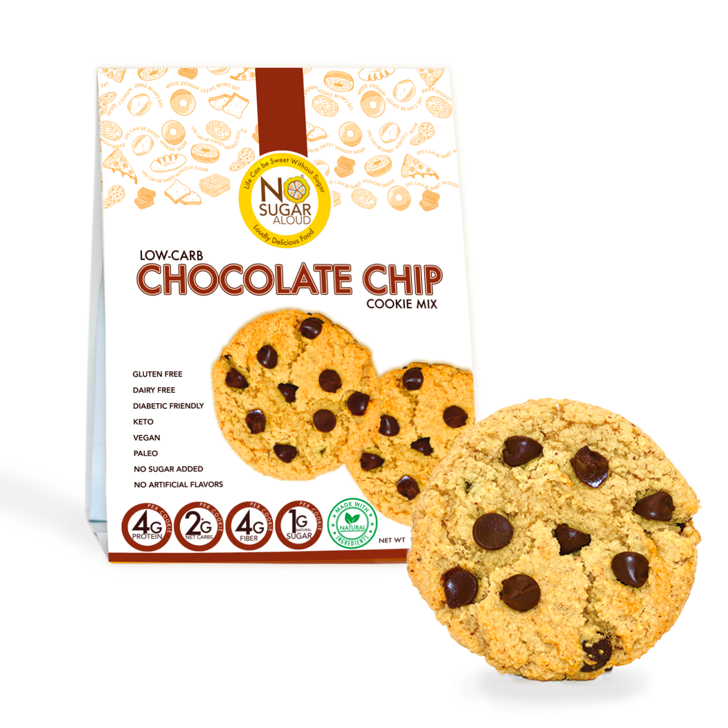 Low Carb Chocolate Chip Cookie Mix   Trada Marketplace