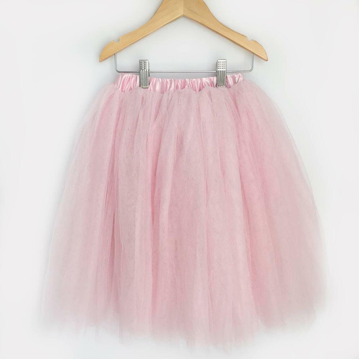 Light Pink Full Length Tulle Skirt    Trada Marketplace