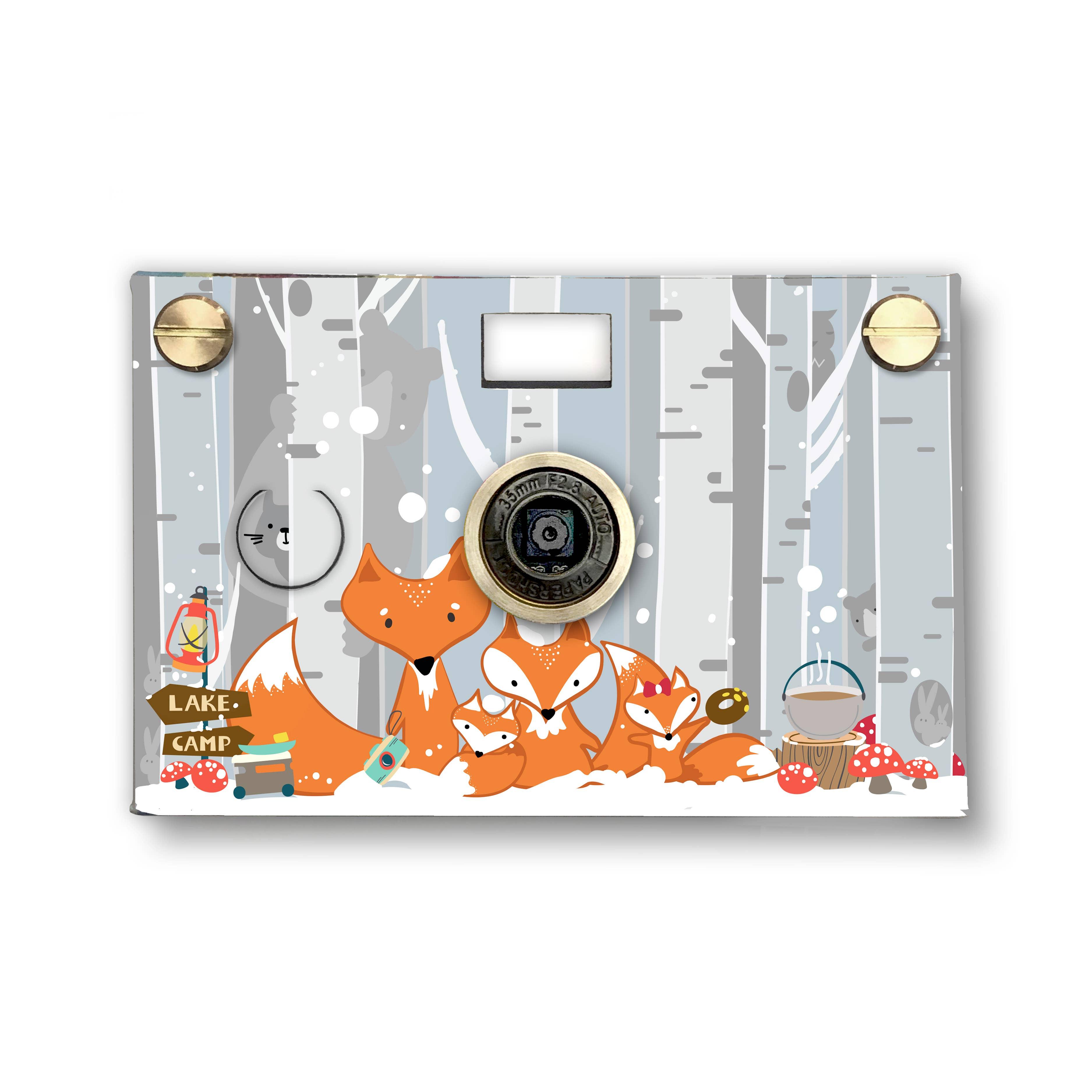 Snow Fox Paper Digital Camera   Trada Marketplace