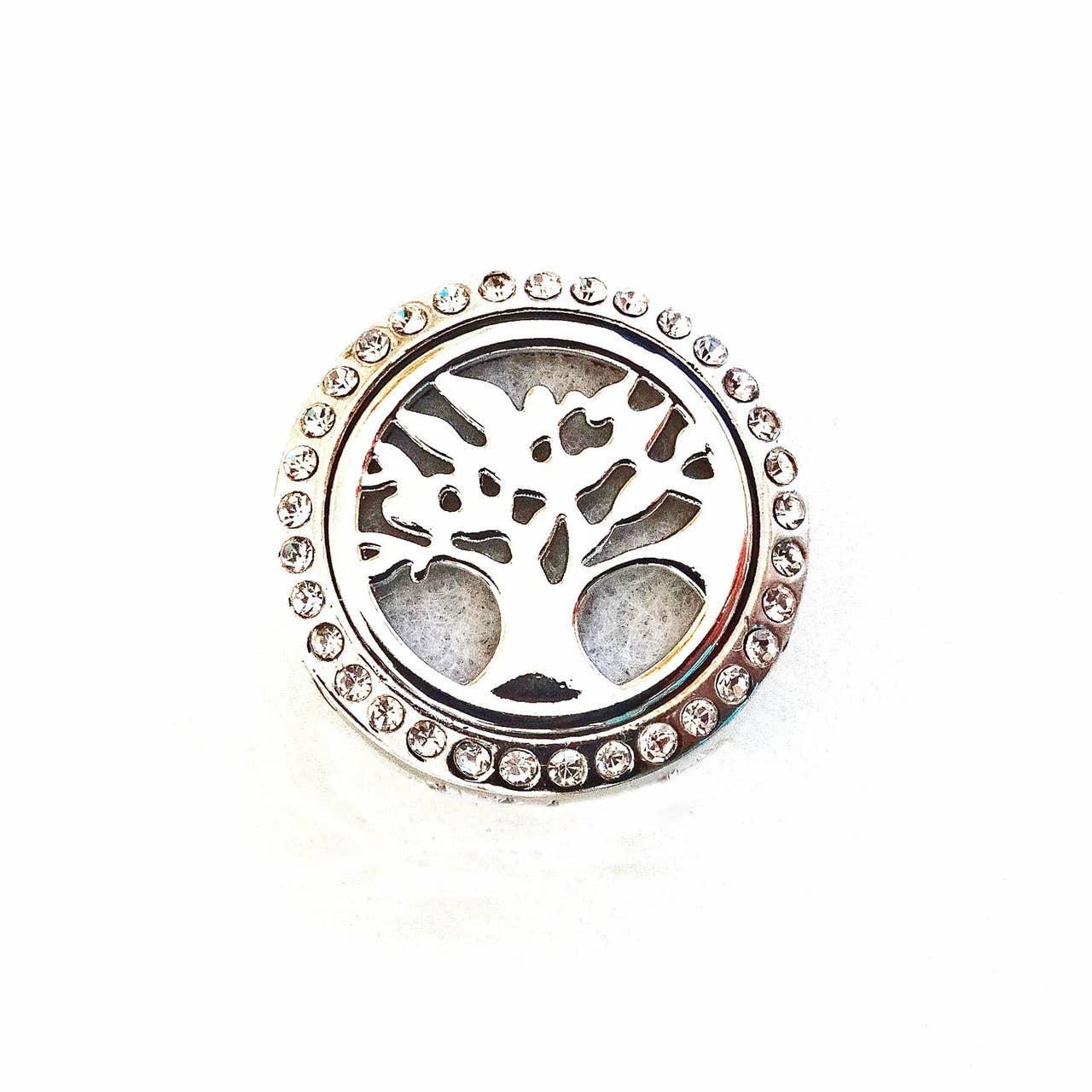 Perfume Locket Tree of Life Snap Jewel | Trada Marketplace