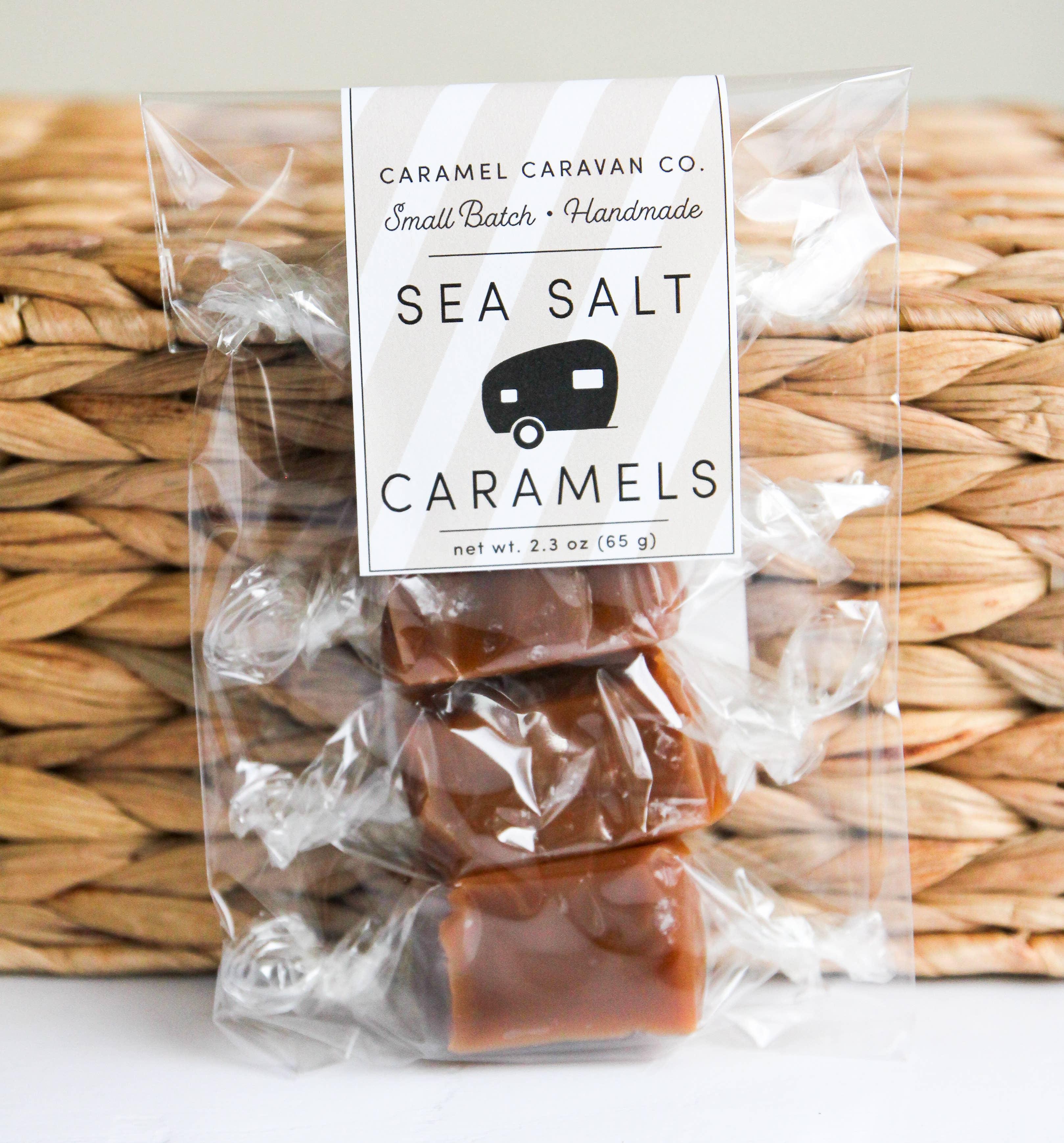 Sea Salt Caramels - 4 Piece Bag | Trada Marketplace