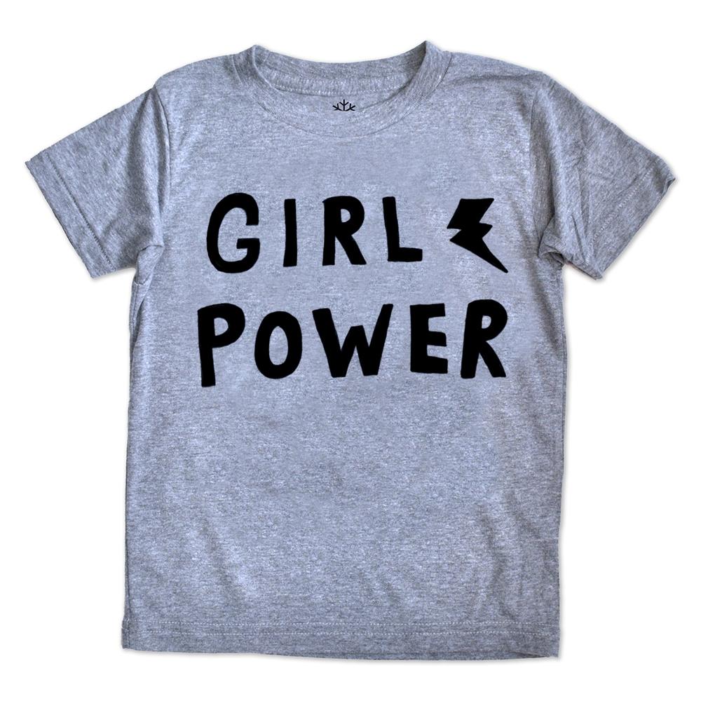 Girl Power - Triblend - Grey | Trada Marketplace