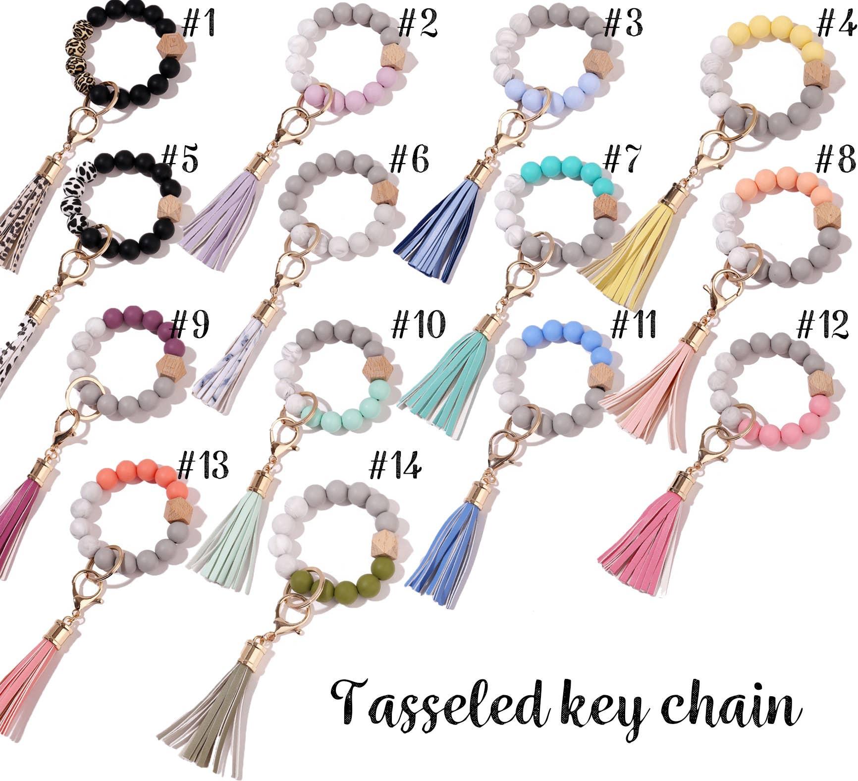 bracelet keychain with tassel   Trada Marketplace