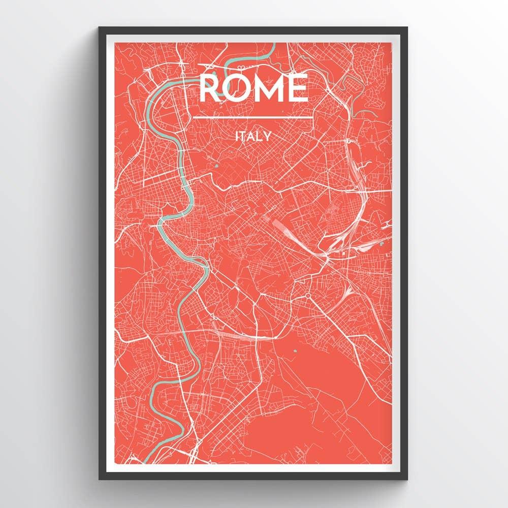 Rome City Map | Trada Marketplace