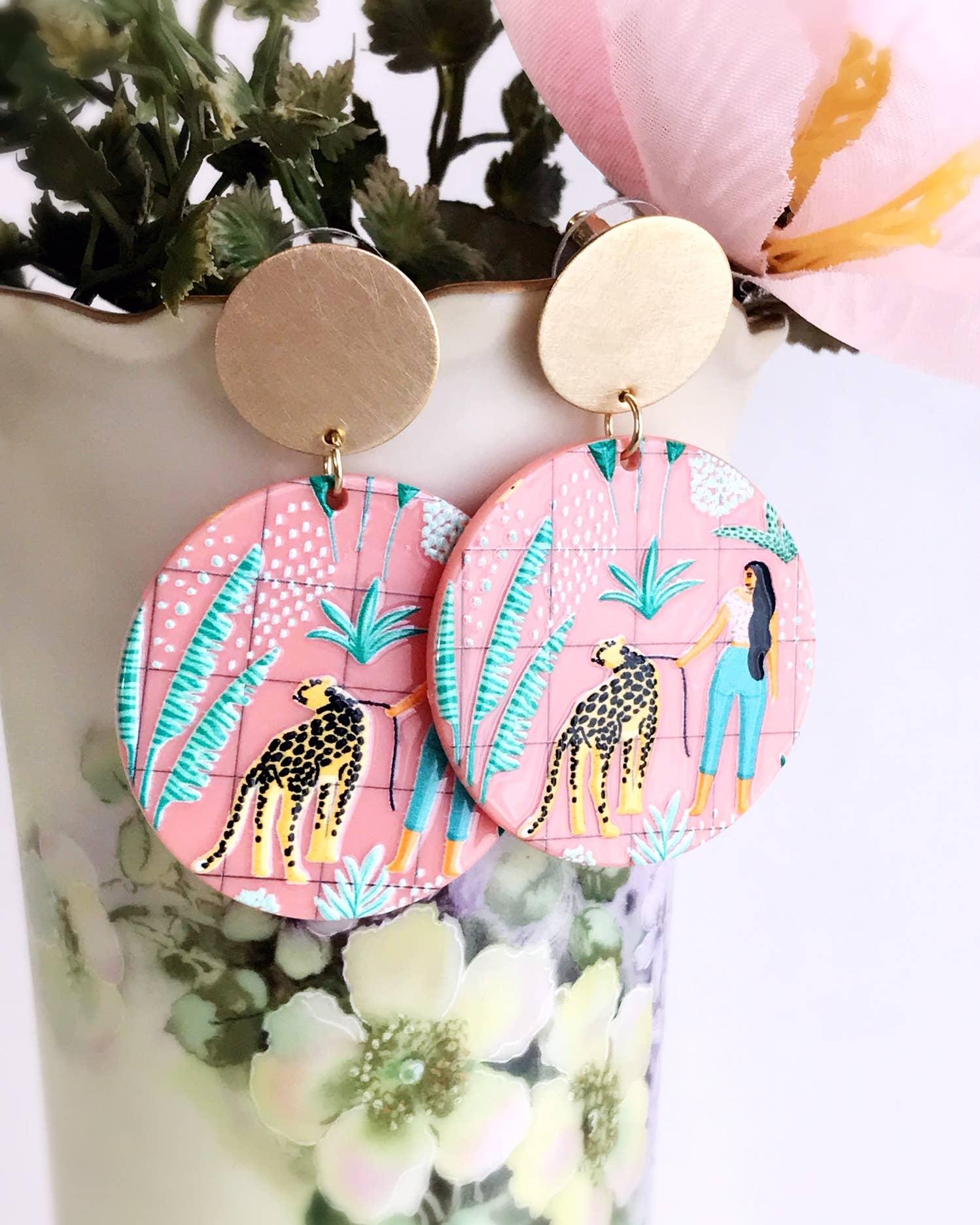 jungle love earrings   Trada Marketplace