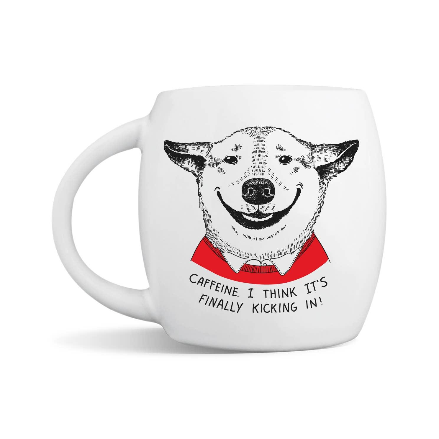 Smiling Pooch Mug | Trada Marketplace