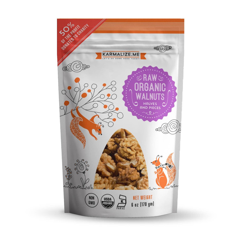 Raw Organic Walnuts - 6 oz | Trada Marketplace