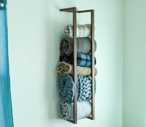 "36"" Blanket Wall Rack | Trada Marketplace"