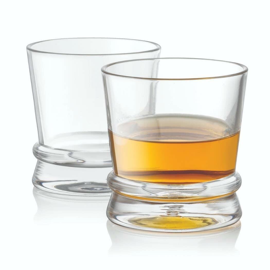 Afina Whiskey Glass 10oz (Set of 2)  | Trada Marketplace