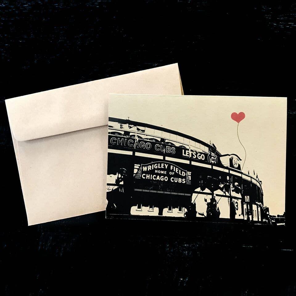Chicago Wrigley Field Single Card | Trada Marketplace