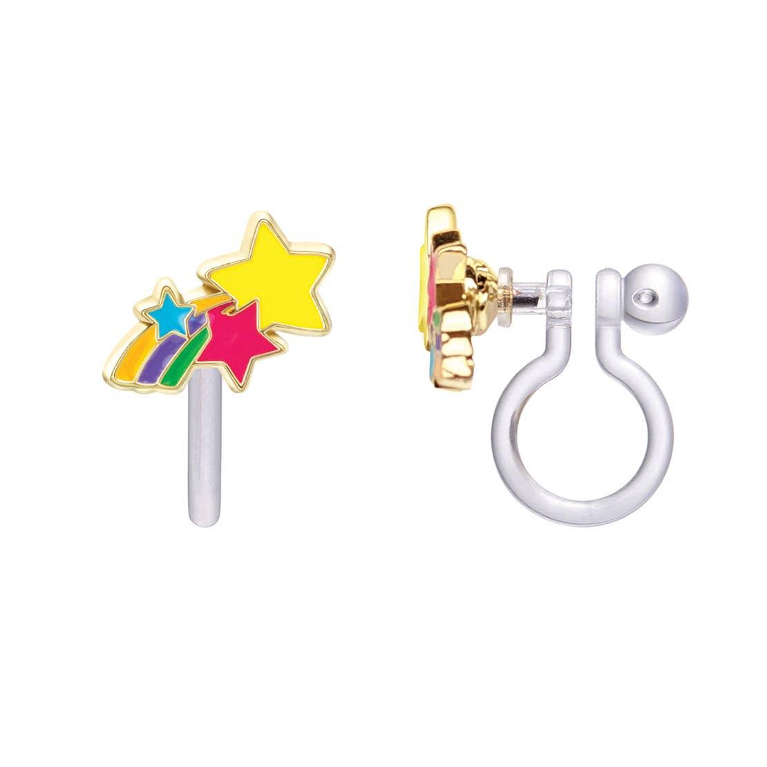CLIP ON Cutie Earrings- Shooting Stars | Trada Marketplace