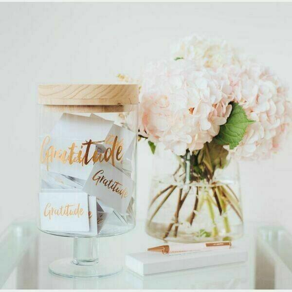 Gratitude Glass Jars | Trada Marketplace