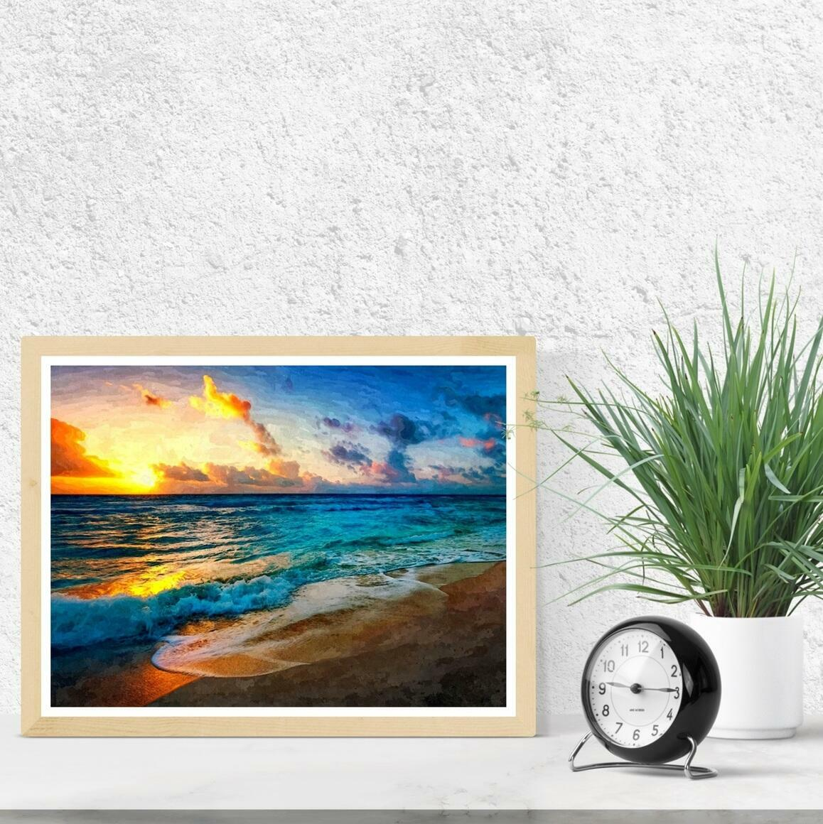 """Between Sea and Sky"" Fine Art Print | Trada Marketplace"